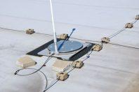 Dachampel warnt vor Einsturzgefahr