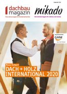 Dach+Holz Messe 2020 in Stuttgart