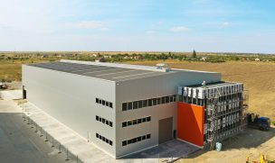 Produktionshalle in Galati