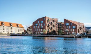 Wohnhäuser in Kopenhagen