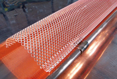 Dachrinne Laubschutz raku dachrinnen bleiben sauber dachbaumagazin