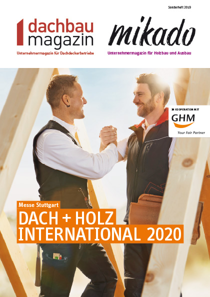 Dach+Holz Messe 2020 in Stuttgart