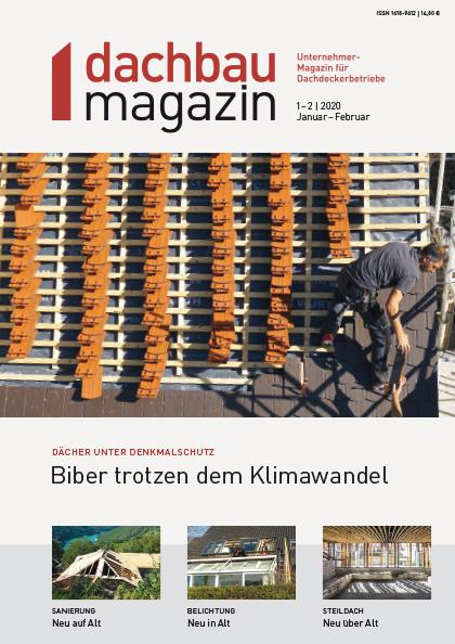 dachbaumagazin Ausgabe 1-2.2020