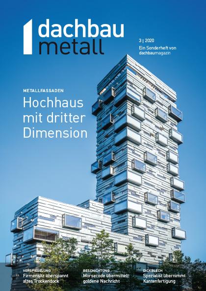 dachbaumagazin Ausgabe 10.2020 dachbaumetall