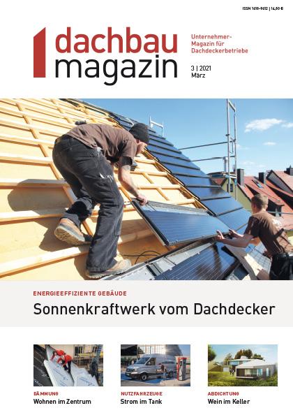 dachbaumagazin Ausgabe 03.2021