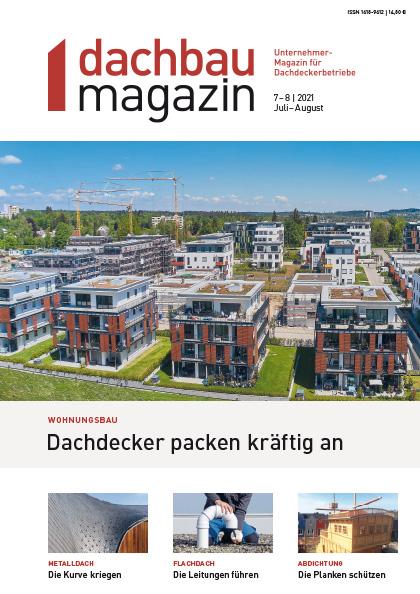 dachbaumagazin Ausgabe 7-8.2021