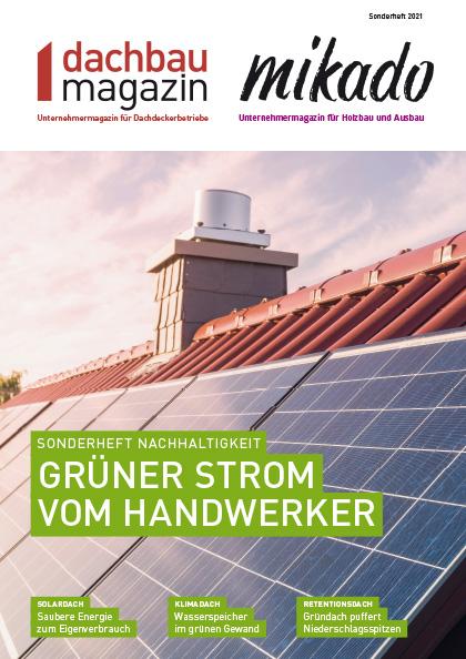 dachbaumagazin Sonderheft Nachhaltigkeit 06.2021