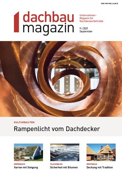dachbaumagazin Ausgabe 09.2021