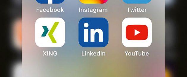 Social Media Dachdecker per Handy