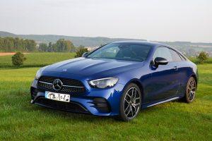 Mercedes E-Coupé von vorne