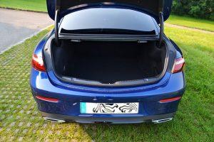 Mercedes E-Coupé Kofferraum