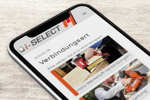 App i-Select: in fünf Schritten zur passenden Befestigung